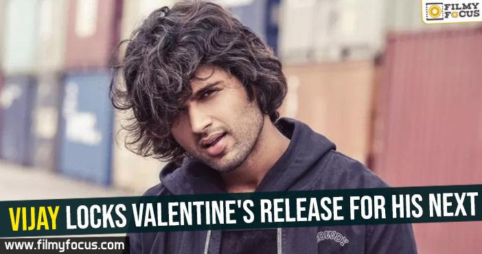Vijay locks Valentine's release for his next