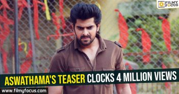 Aswathama's teaser clocks 4 million views