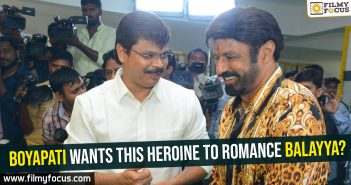 Boyapati wants this heroine to romance Balayya
