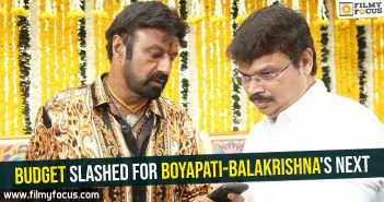 Budget slashed for Boyapati-Balakrishna's next