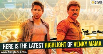 Here is the latest highlight of Venky Mama