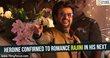 Heroine confirmed to romance Rajini in his next