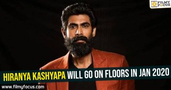 Hiranya Kashyapa will go on floors in Jan 2020