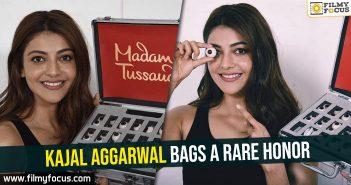 Kajal Aggarwal bags a rare honor