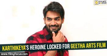 Karthikeya's heroine locked for Geetha Arts film
