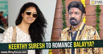 Keerthy Suresh to romance Balayya