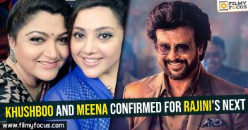 Khushboo and Meena confirmed for Rajini's next