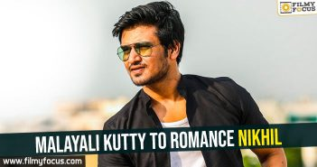 Malayali kutty to romance Nikhil