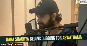 Naga Shaurya Begins Dubbing For Aswathama