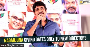 Nagarjuna giving dates only to new directors