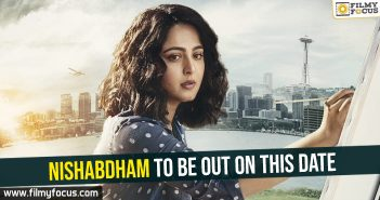 Nishabdham to be out on this date
