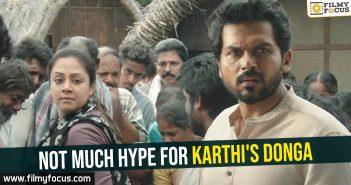 Not much hype for Karthi's Donga