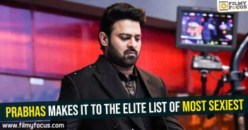 Prabhas makes it to the elite list of Most Sexiest