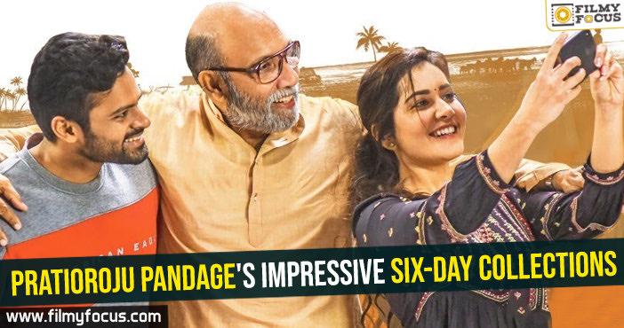 Pratioroju Pandage's impressive six-day collections