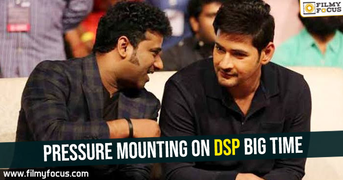 Pressure mounting on DSP big time