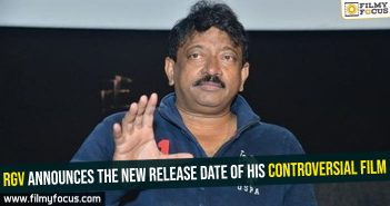 RGV announces the new release date of his controversial film