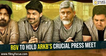 RGV to hold ARKB's crucial press meet