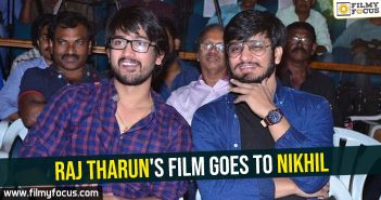 Raj Tharun's film goes to Nikhil
