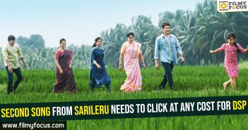 Second song from Sarileru needs to click at any cost for DSP