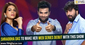 Shraddha Das to make her web series debut with this show
