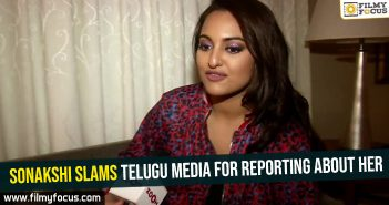 Sonakshi slams Telugu media for reporting about her