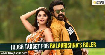 Tough target for Balakrishna's Ruler