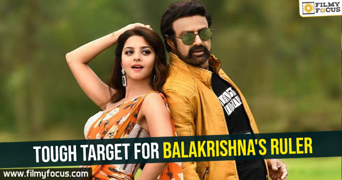Tough target for Balakrishna's Ruler