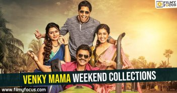 Venky Mama Weekend collections