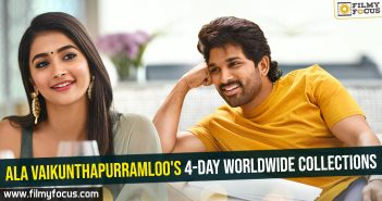 Ala Vaikunthapurramloo's 4-day worldwide collections