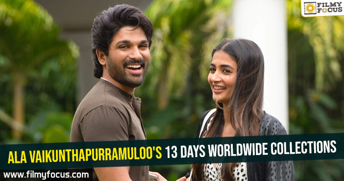 Ala Vaikunthapurramuloo's 13 days worldwide collections