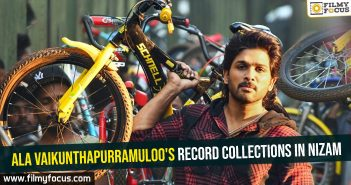 Ala Vaikunthapurramuloo's record collections in Nizam