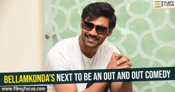 Bellamkonda's next to be an out and out comedy