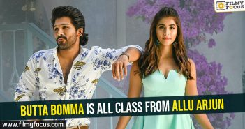 Butta Bomma is all class from Allu Arjun