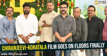 Chiranjeevi-Koratala film goes on floors finally