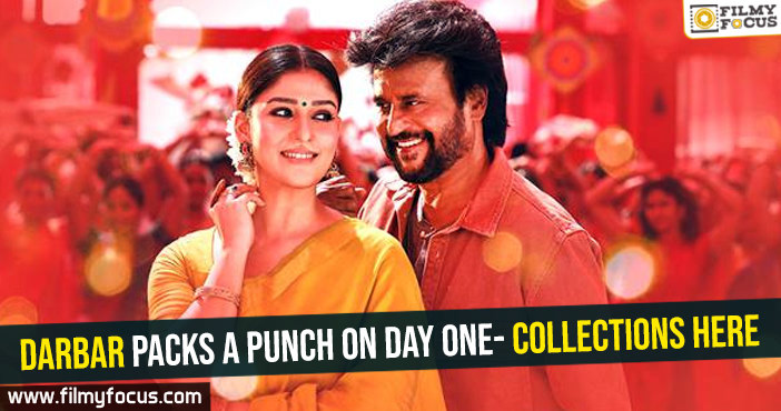 Darbar packs a punch on day one- Collections here