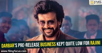 Darbar's pre-release business kept quite low for Rajini