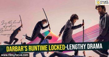 Darbar's runtime locked-Lengthy drama