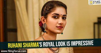 Dirty Hari-Ruhani Sharma's royal look is impressive