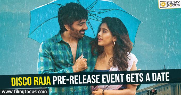 Disco Raja pre-release event gets a date