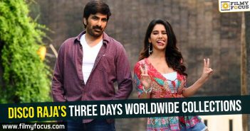 Disco Raja's three days worldwide collections