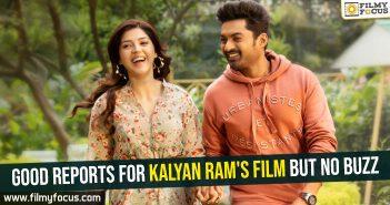 Good reports for Kalyan Ram's film but no buzz