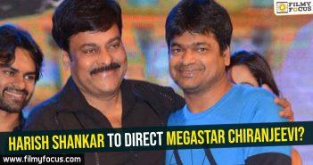 Harish Shankar to direct megastar Chiranjeevi