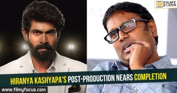 Hiranya Kashyapa's post-production nears completion