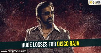 Huge losses for Disco Raja