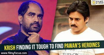 Krish finding it tough to find Pawan's heroines