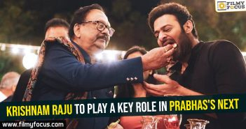 Krishnam Raju to play a key role in Prabhas's next