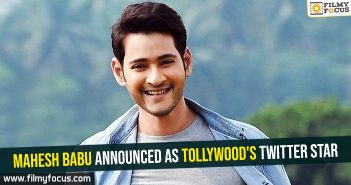Mahesh Babu announced as Tollywood's Twitter star