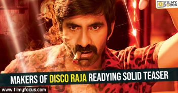 Makers of Disco Raja readying solid teaser