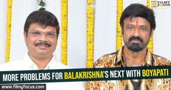 More problems for Balakrishna's next With Boyapati