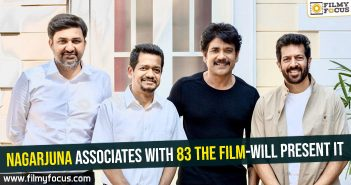 Nagarjuna associates with 83 The film-Will present it